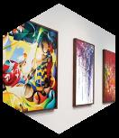 les expositions d'art